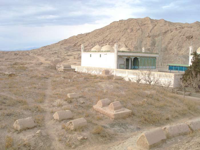 ABİDE ŞAHSİYET Kaşgarlı Mahmutun Turbesi Doğu Türkistan Kaşgar-Opal