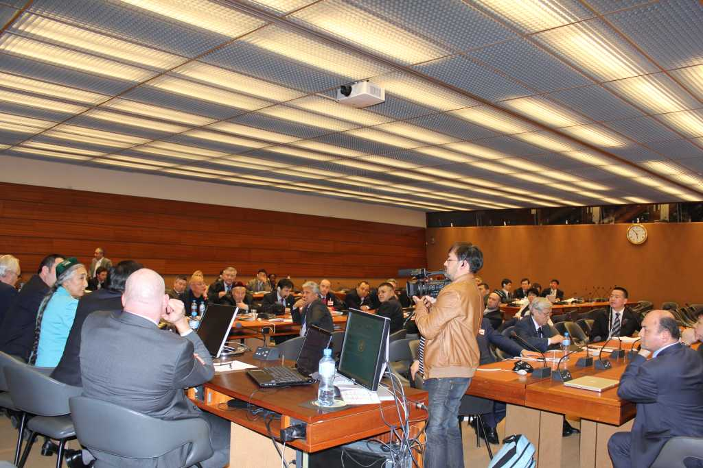 BM salonunda toplantı