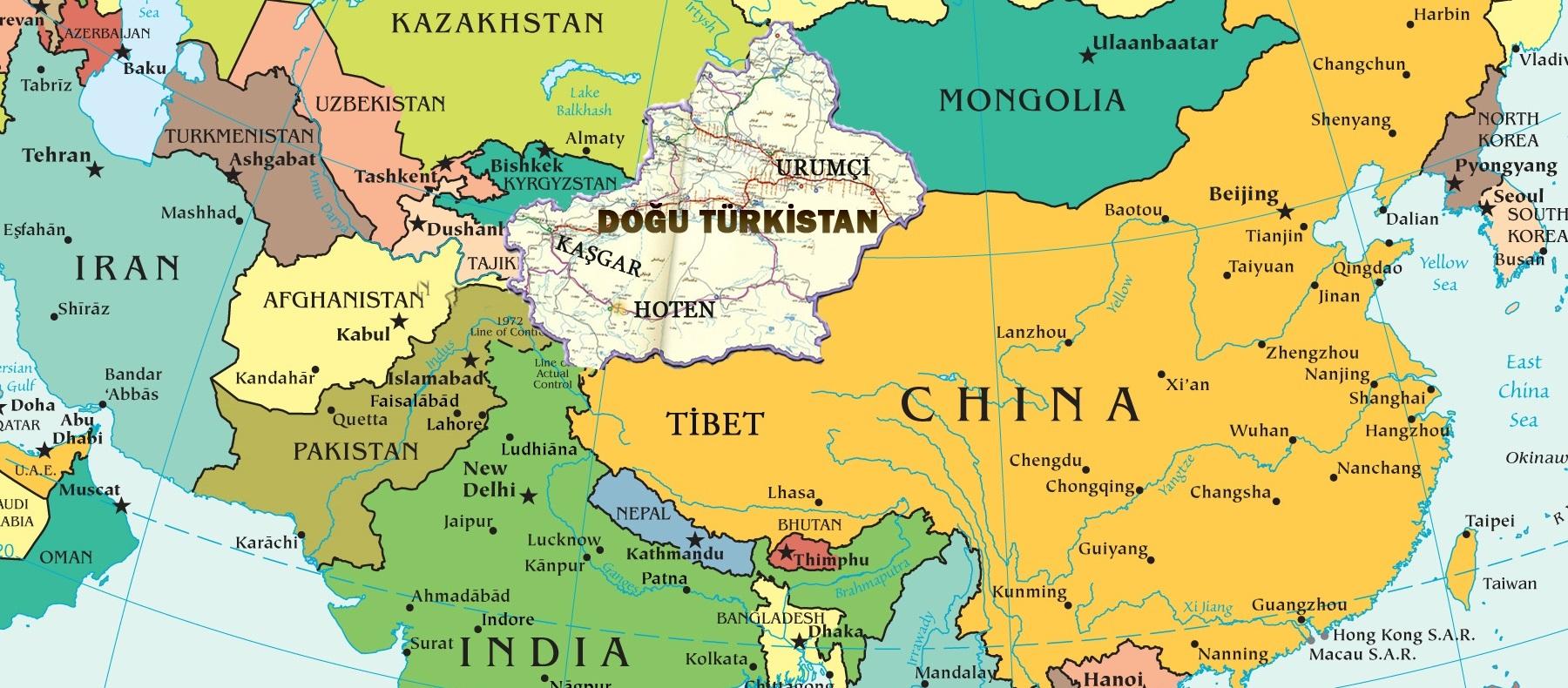 Doğu Türkistan – Türkistan – Doğu Türkistan Uygur Türkleri